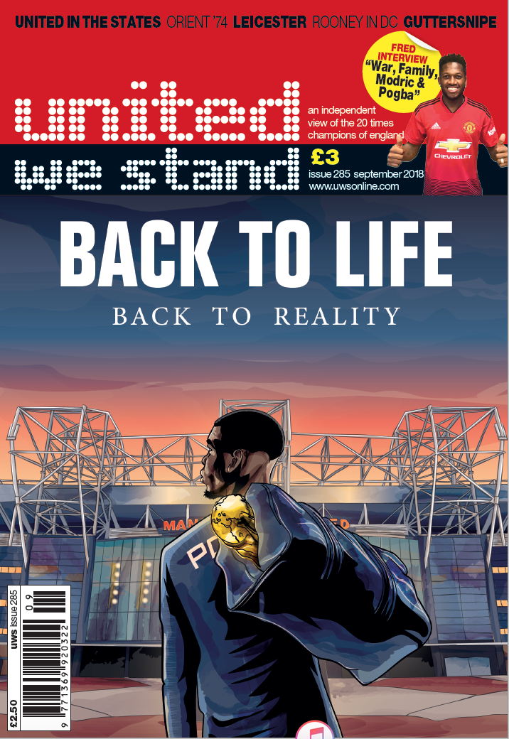 the latest United We Stand fanzine